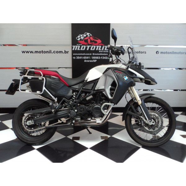 BMW F800 GS ADVENTURE BRANCA 2016