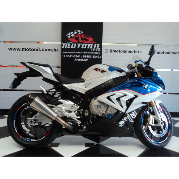 BMW S 1000 RR FULL TRICOLOR 2016