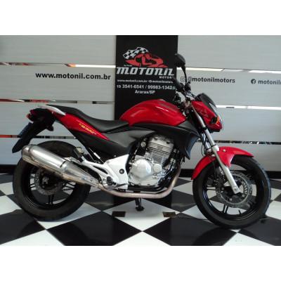 HONDA CB300 R VERMELHA 2012