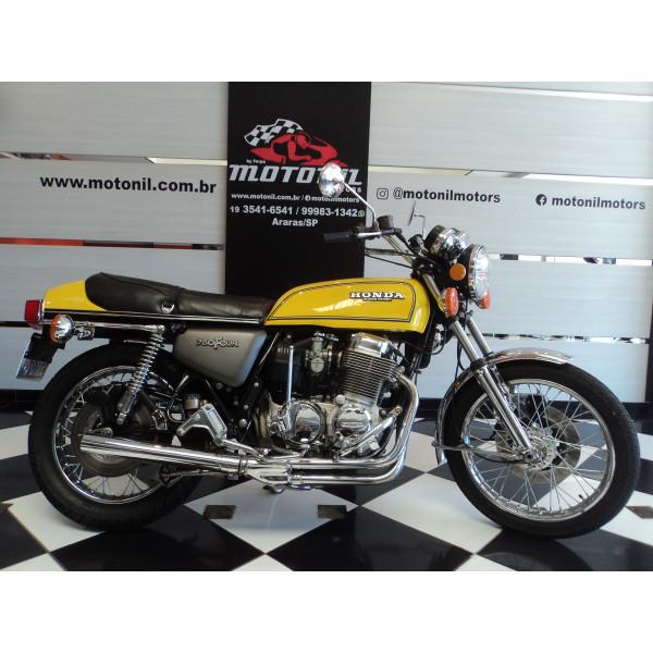 HONDA CB750 F AMARELA 1976