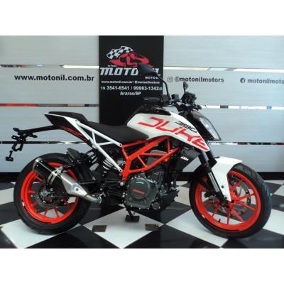 KTM DUKE 390 NG ABS BRANCA 2020