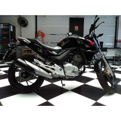 Honda CB250 F Twister Preta 2016