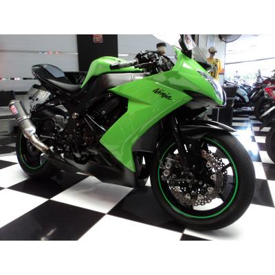Kawasaki ZX10 R 2009 Verde