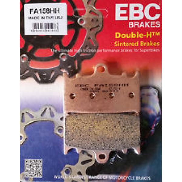 PASTILHA DE FREIO DIANTEIRO EBC FA 158 HH / KAWASAKI / SUZUKI