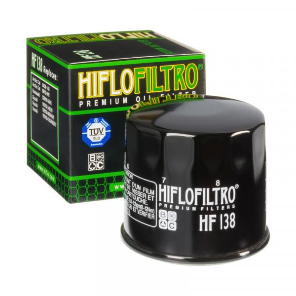 FILTRO DE ÓLEO HIFLO HF138 APRILIA / BIMOTA / CAGIVA / KAWASAKI / SUZUKI