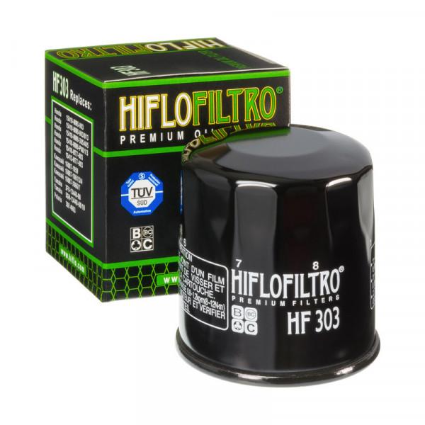 FILTRO DE ÓLEO HIFLO HF303 BIMOTA / HONDA / KAWASAKI / POLARIS / YAMAHA