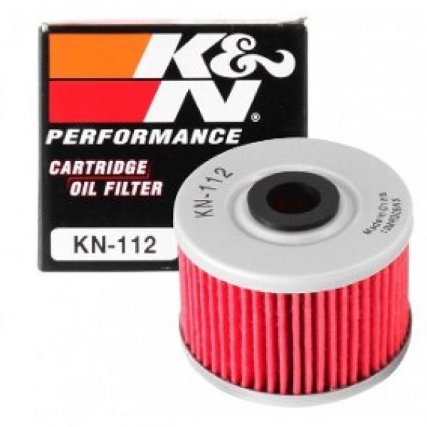 FILTRO DE ÓLEO K&N KN-112 KAWASAKI KX450F / KSR110 / KLX450R / HONDA XR650L