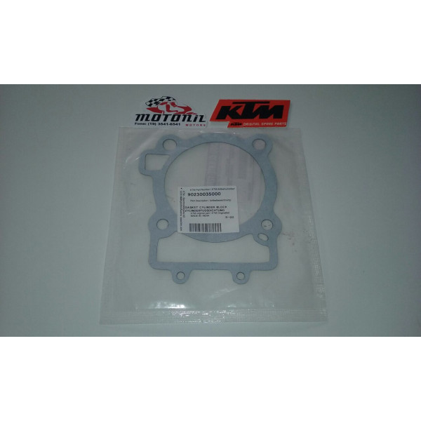 JUNTA DO CILINDRO KTM DUKE 390 ORIGINAL 90230035000
