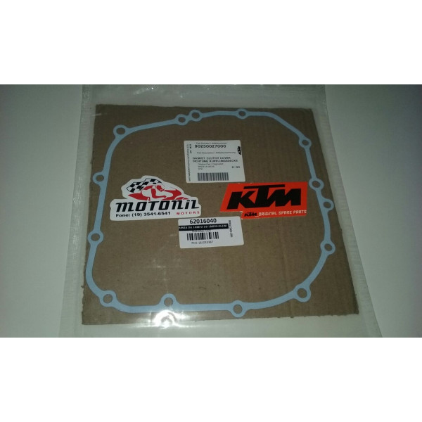 JUNTA DA TAMPA DA EMBREAGEM KTM DUKE 390 ORIGINAL 90230027000