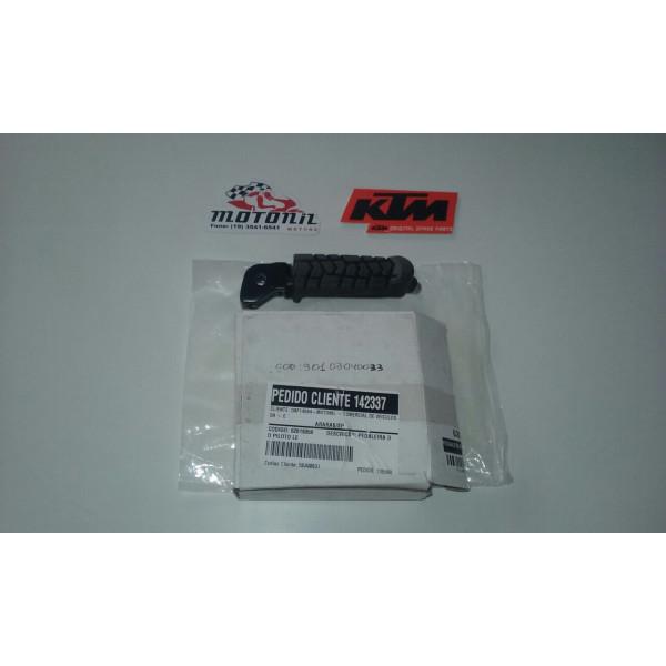 PEDALEIRA DIANTEIRA LE KTM DUKE 200 E 390 ORIGINAL 90103040033