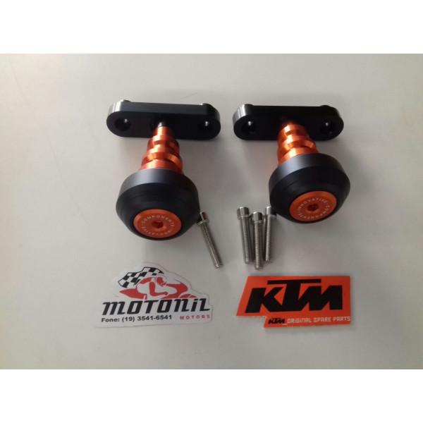 SLIDER DIANTEIRO MOTOR PARA KTM DUKE 200 E 390