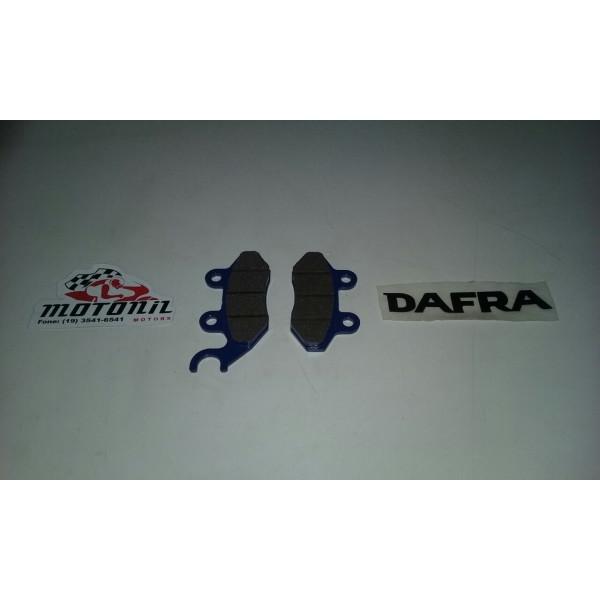 PASTILHA DE FREIO DIANTEIRA DAFRA CITYCOM 300I E FIDDLE III 125 ORIGINAL 60107-A21A-000