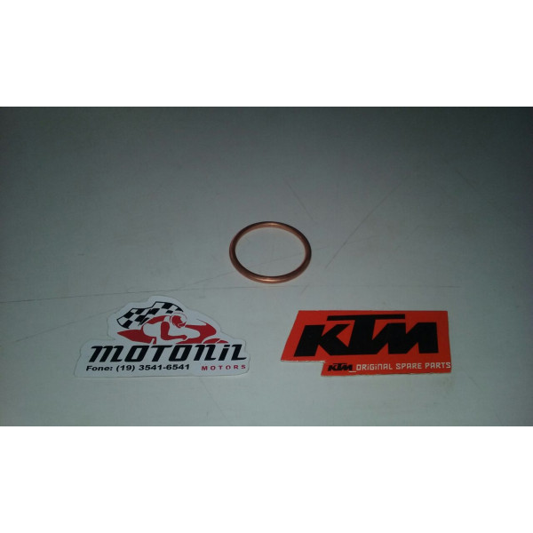 JUNTA DE AÇO DO ESCAPAMENTO KTM DUKE 200 E 390 ORIGINAL  L90105004000