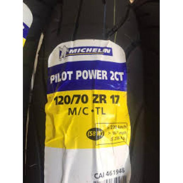 Pneu Michelin Pilot Power 2CT 120/70-17 58W